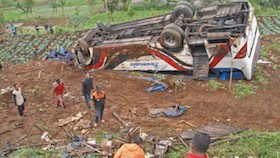 Kasus kecelakaan bus maut, uji kir harus di benah