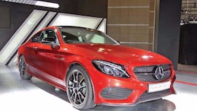 New Mercedes-Benz AMG C 43 Coupe