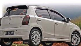 Toyota Etios Valco 2013, gaya reli ala senpai