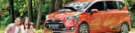 Toyota all new Sienta, partner sejati