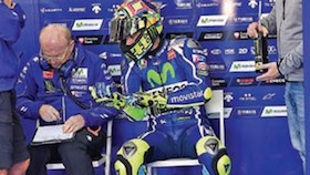Tes MotoGP, Valencia, Spanyol, diam-diam menghanyutkan