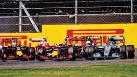 F1 seri 19, Mexico, drama podium tiga