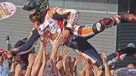 MotoGP seri 15, Jepang, Marquez Pants juara Indonesia