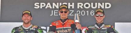 World superbike seri 12, Jerez Rea tanpa beban, Davies Digdaya