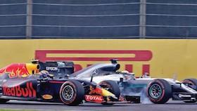 F1 seri 17, Jepang, aksi Verstappen makan korban lagi