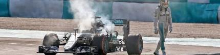 F1 seri 16, Malaysia, mobil Lewis Hamilton disabotase?