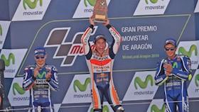 MotoGP seri14, Aragon, Marquez hampir pasti juara dunia
