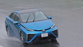 Toyota Mirai FCV, the promised future