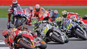 MotoGP seri 12, Inggris, sengit dan seru hingga akhir