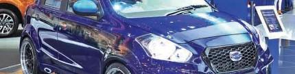 Datsun Go Panca biru itu Indonesia