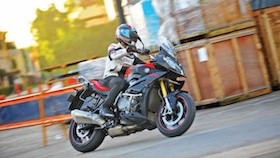 Test ride BMW S1000 XR