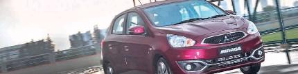 New Mitsubishi Mirage, lebih lincah