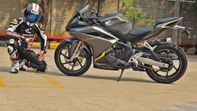 All New Honda CBR250RR, diam aja sudah terlihat kencang!