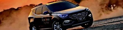 Hyundai Santa Fe, gasoline 2016 edition