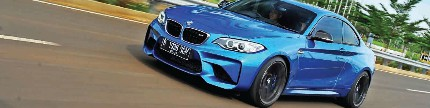 Test drive BMW M2 Coupe