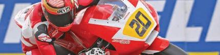 Desain helm pembalap Indonesia, ciri khas pembalap di dunia