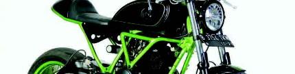 Yamaha Scorpio 2010, tinggi berotot