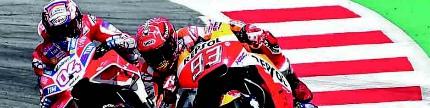 MotoGP putaran 11, Austria, Dovi berhasil memancing Marquez