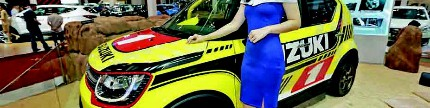 Suzuki Ignis Motocross, terinspirasi motor trail