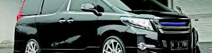 Toyota Alphard 2017, gaya simple mobil CBU
