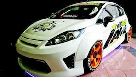 Ford Fiesta 2013, kombinasi street racing dan meaty stance