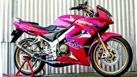Honda LS 125 2002, modal memikat wanita