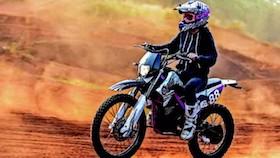Kawasaki KLX 150 2013, penggaruk tanah girly