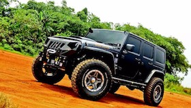 Jeep Wrangler JK Unlimited Sport 2013, proyek kolaborasi