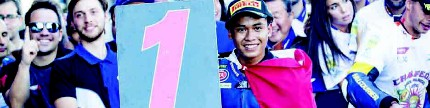 World supersport 300 putaran 9 Spanyol, Galang sungguh gemilang