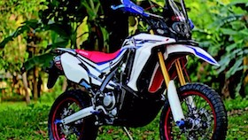 Honda CRF250 rally 2017, maunya adventure look!