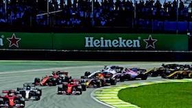 F1 putaran 19, Brasil. Vattel juara, Hamilton yang kencang