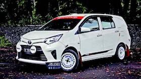 Toyota Calya 2016, Bali rally style