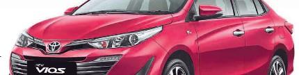 New Toyota Vios: Berubah wajah fitur bertambah
