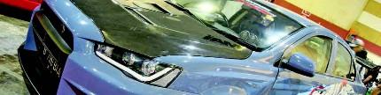 Mitsubishi Lancer EX 2010, street racing style