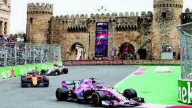 F1 Putaran 4, Azerbaijan, 'Pasar senggol' gaya F1