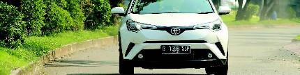 Toyota C-HR, crossover yang fun to drive