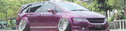 Honda Odyssey Absolute 2012, Japanese stance dari Salatiga