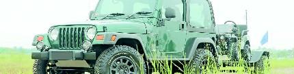 Jeep TJ 2002, konsep gado-gado