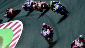 MotoGP Putaran 7, Spanyol, ban lunak bawa ke podium puncak