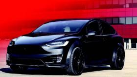 Tesla Model X P100D Sportline, ketika SUV listrik dibikin sangar