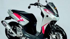 Yamaha Lexi 2018, tampil beda untuk display