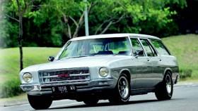 Holden Kingswood HQ Wagon 1973, zombie yang keren