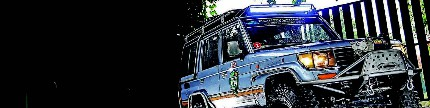 Toyota land cruiser II 1994, penjelajah desa