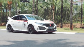 Honda Civic Type-R FK8R 2017, proyek time attack