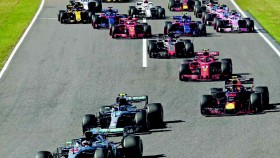 F1 putaran 17, Hamilton tanpa perlawanan