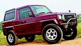 Daihatsu Taft Rocky 1995, garis keras