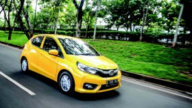 All New Honda Brio Satya E CVT