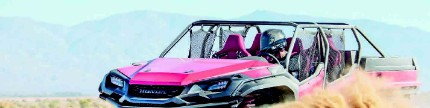 Honda Ridgeline, Rugged Open Air Vehicle Concept
