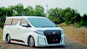 Toyota Alphard G 2017, daily use bagged
