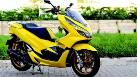 All New Honda PCX 150 2018, Bumblebee elegan